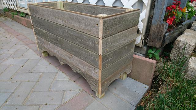Planter boxes - Woodworking Project by Brian