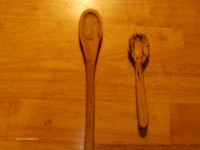 Spalted Maple Spoons