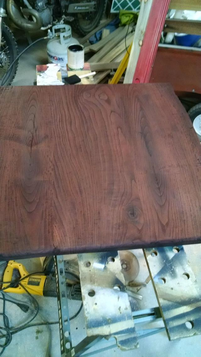 ash end table