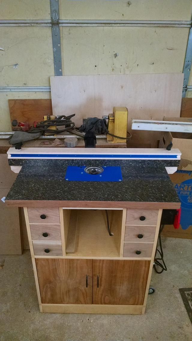 New Router table