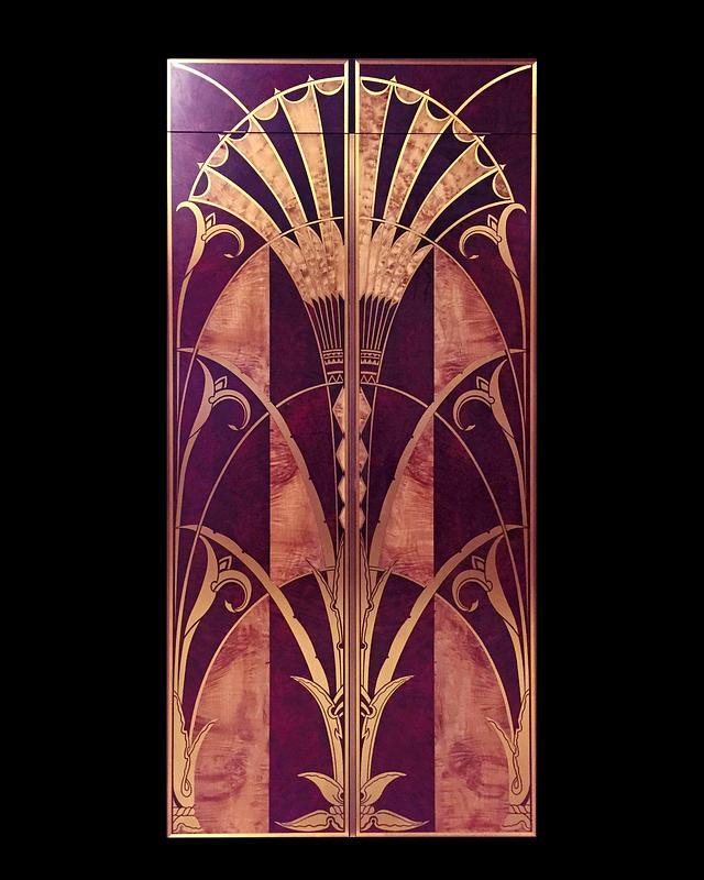 Art Deco Library doors