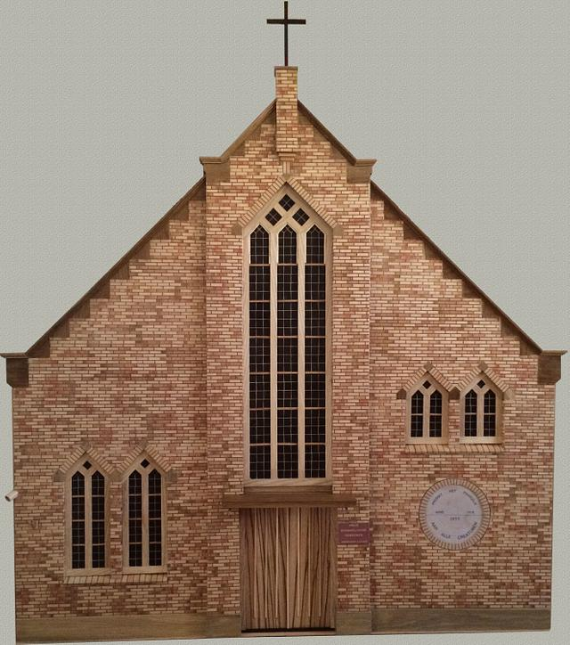 Intarsia?? Marquetry?? Church - Woodworking Project by Dutchy