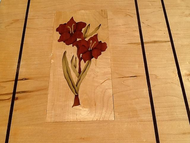 Learning marquetry