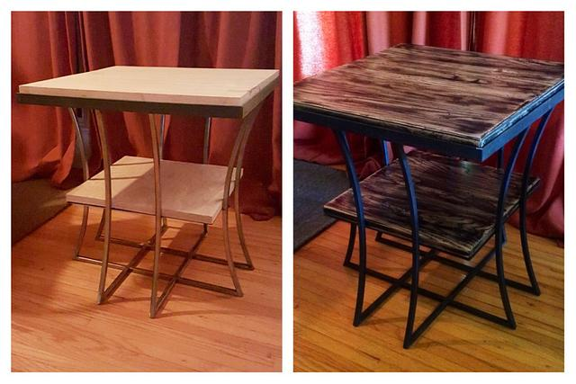 Curb side table - Woodworking Project by Indistressed