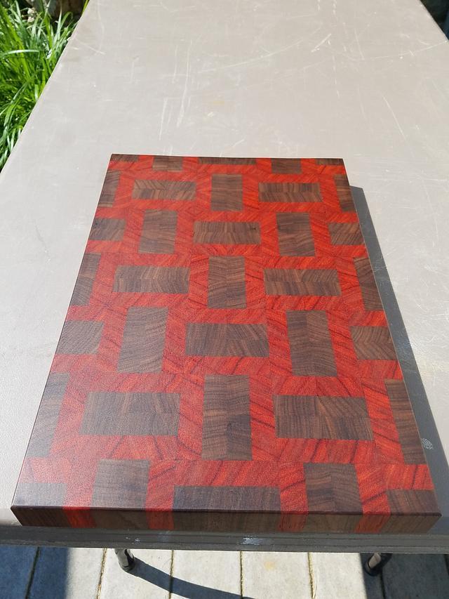 Butcherblock Cutting Board  - Woodworking Project by Steve66