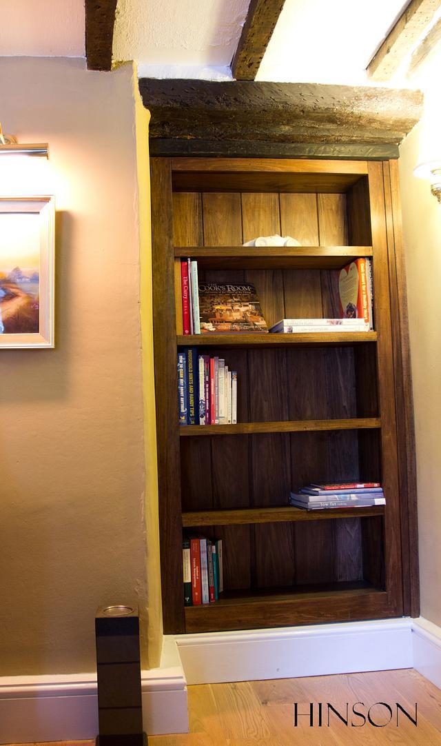 Bookshelf / hidden door