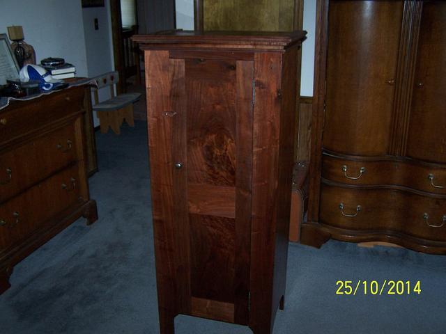 walnut cupboard