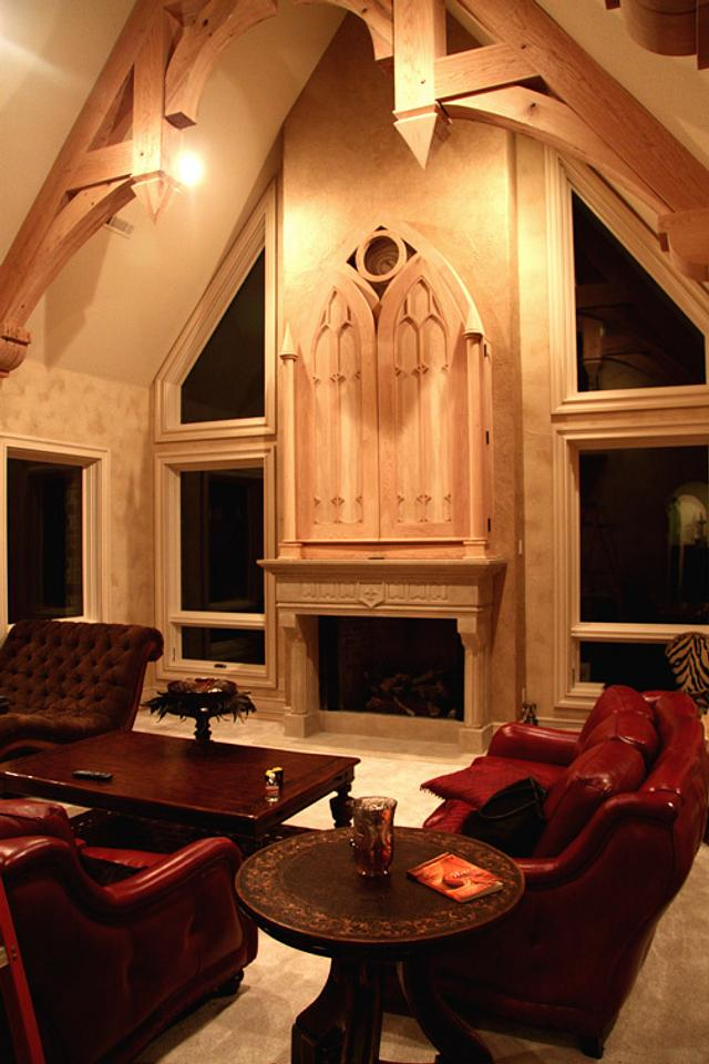 Oak living room