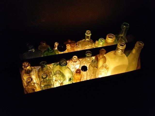 Toolbox Bottle Lamp