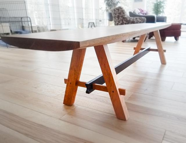 Cherry Bench - Woodworking Project by Manitario