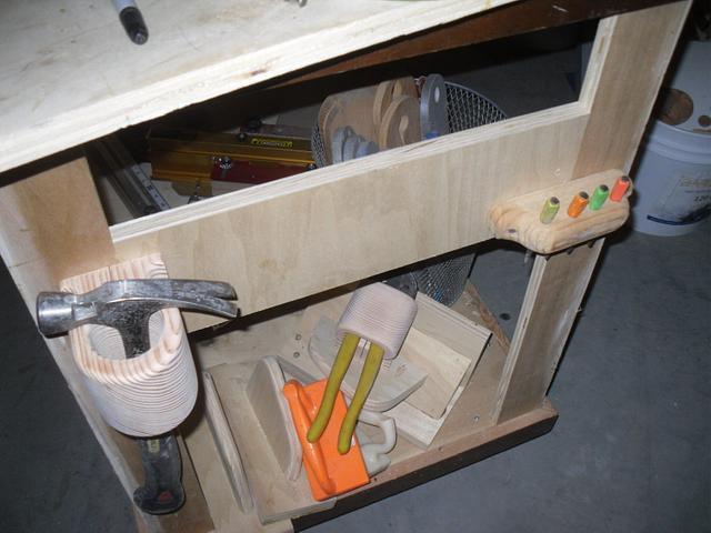 Hammer, Mallet & Nail Puller Storage