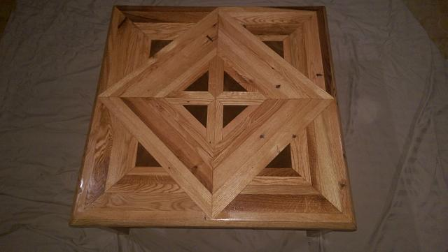 Pallet Wood Coffee Table - Woodworking Project by Michael De Petro