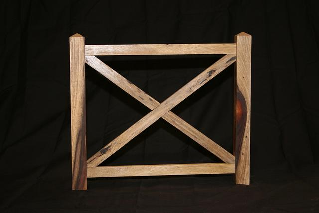 Fence Picture Frame