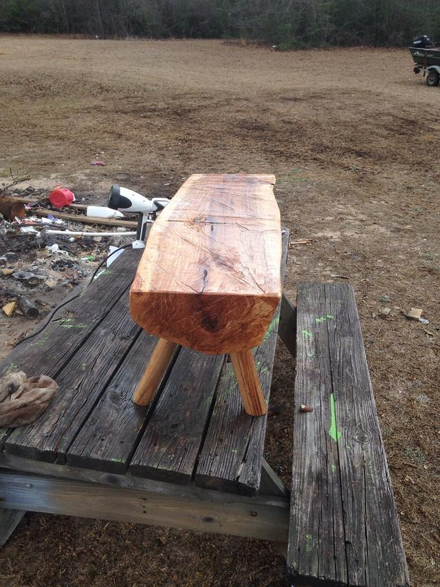1st ever log project