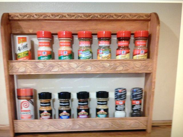 Spice rack for my daughter