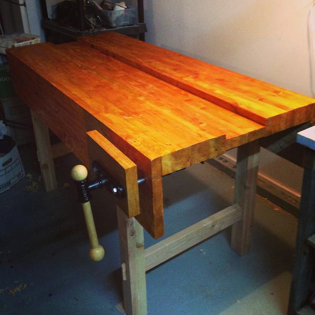Paul Sellers Bench - Woodworking Project by David L. Whitehurst