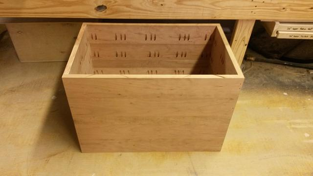 Full Cherry ice chest - Woodworking Project by JrsWoodWorx