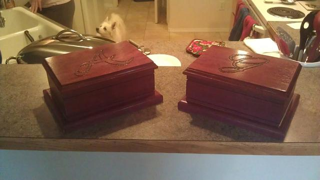 Jewelry Boxes - Woodworking Project by FlagshipOne