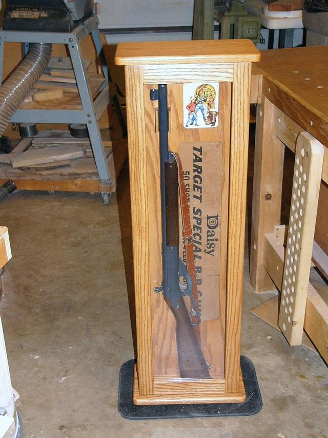 Daisy BB Gun Case - Woodworking Project by Mark Parenti