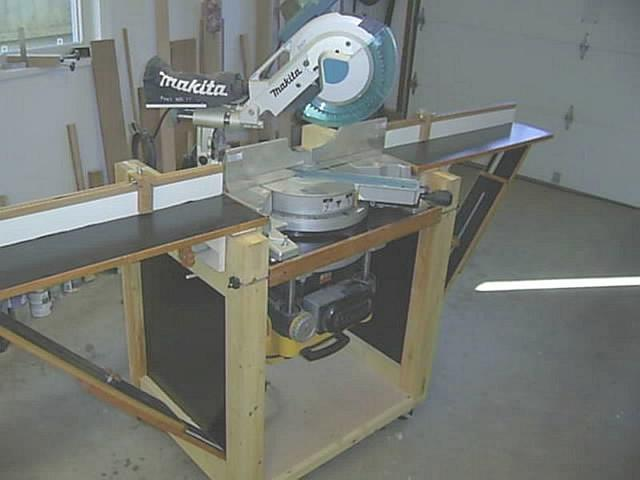 rotating planer/mitersaw stand