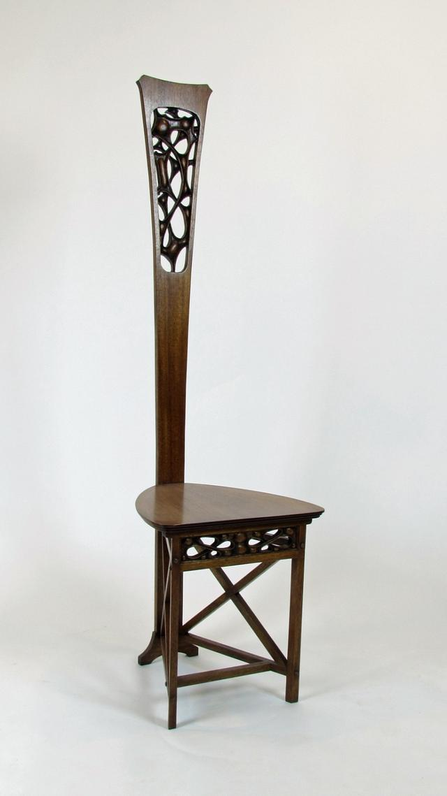 Charles Rohlfs 1898 Desk Chair and Popular Woodworking Article