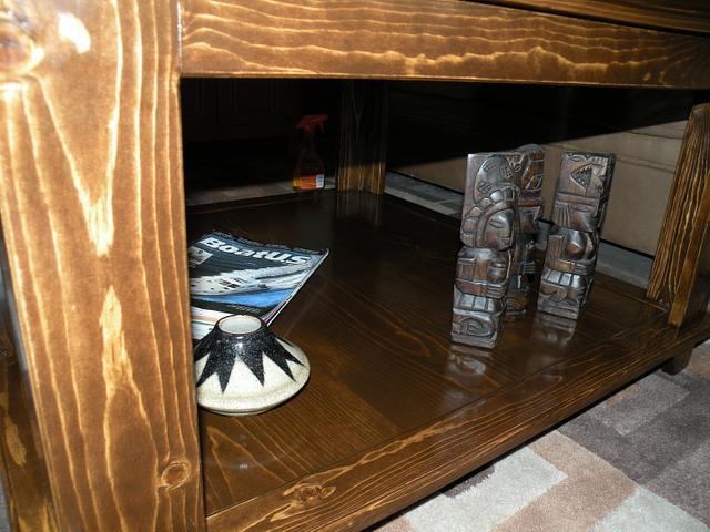 Mosaic Sunburst Coffee Table