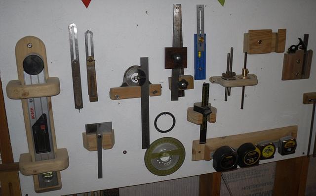 Tape Measure Storage