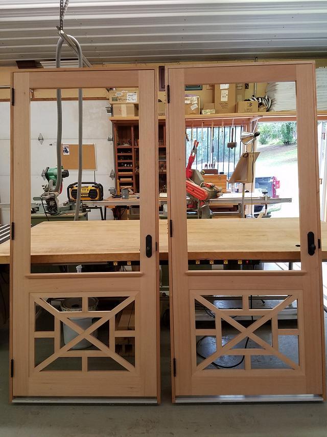 Spanish Cedar Screen Doors - Woodworking Project by Steve66