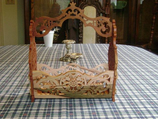 Fretwork Basket