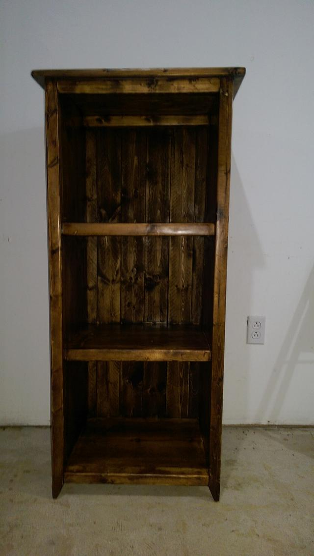 Bookcase - Woodworking Project by Michael De Petro