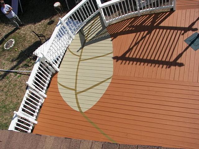 2 leaf deck