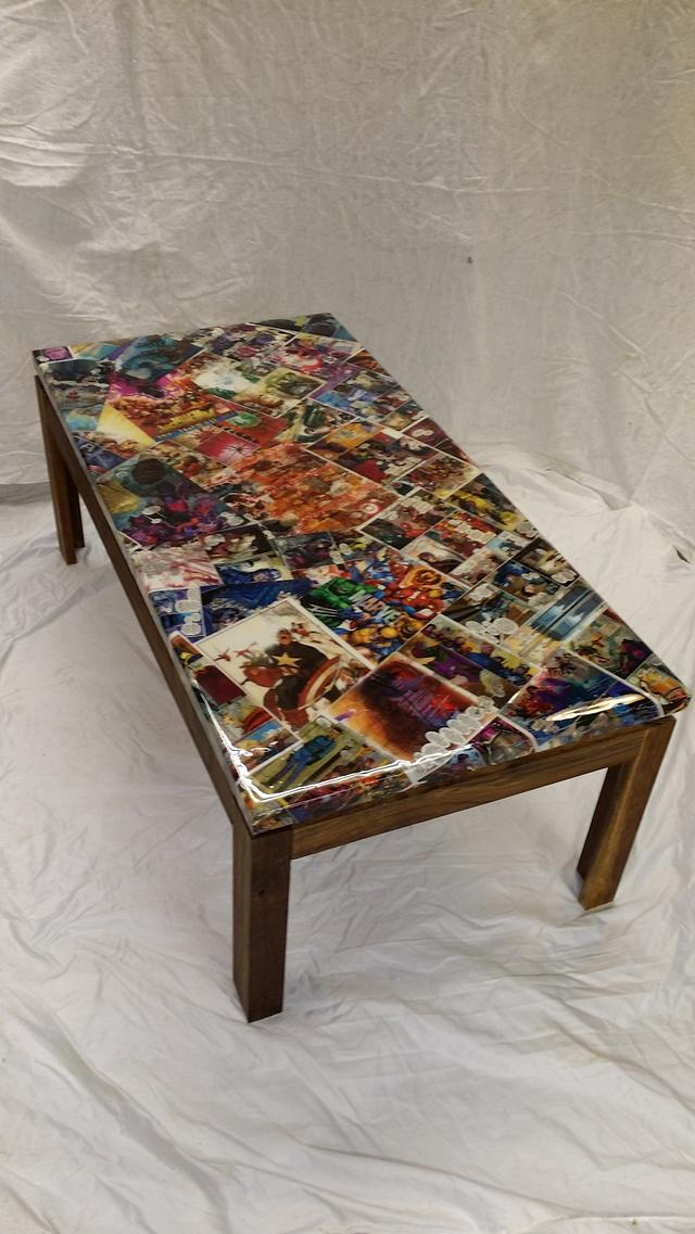 marvel table top coffee table