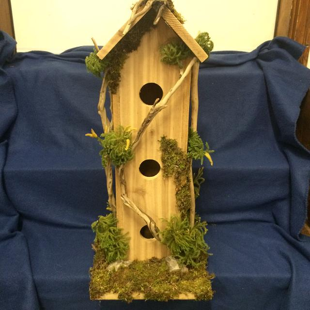 Bird houses - Woodworking Project by Sheri Noble, woodworking at it's finest!