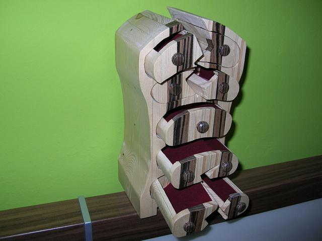 Double cracked bandsawbox