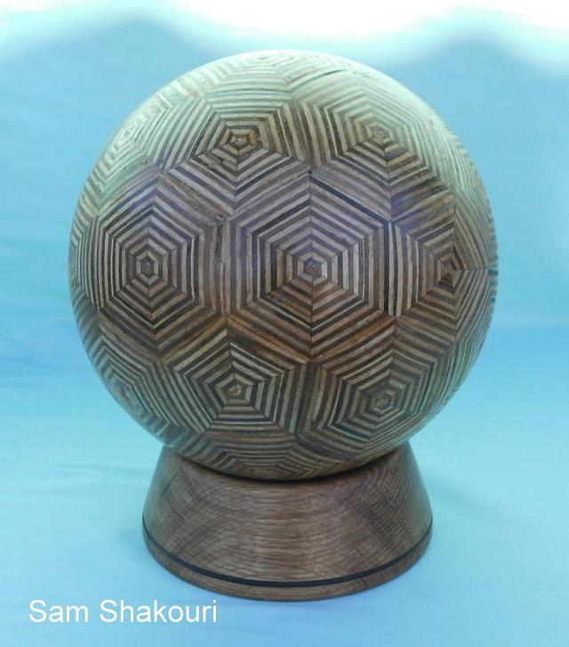 PLYWOOD BALL - Woodworking Project by Sam Shakouri