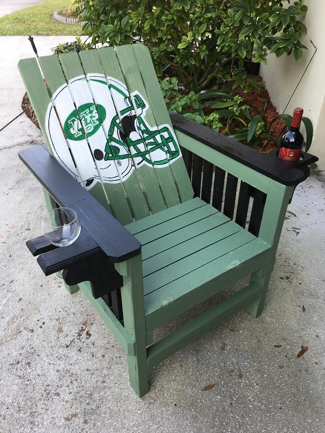 Chair upgrade - Woodworking Project by Angelo