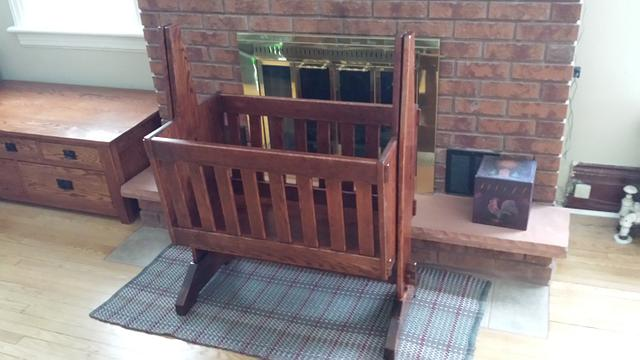 Cradle  - Woodworking Project by Mitch Breault