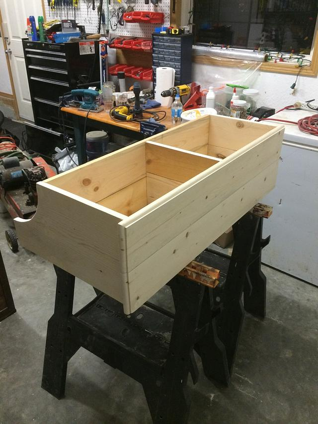Shelf/Coat Rack