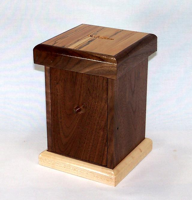 Not Just a Bank - Woodworking Project by Russel Trojan