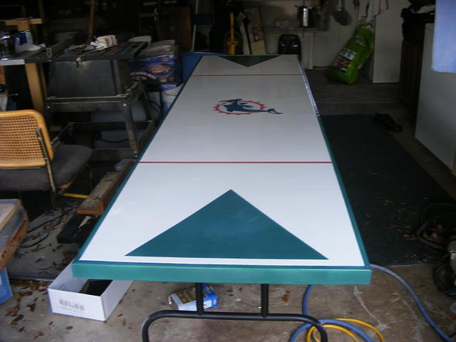 Dolphin Beer Pong Table