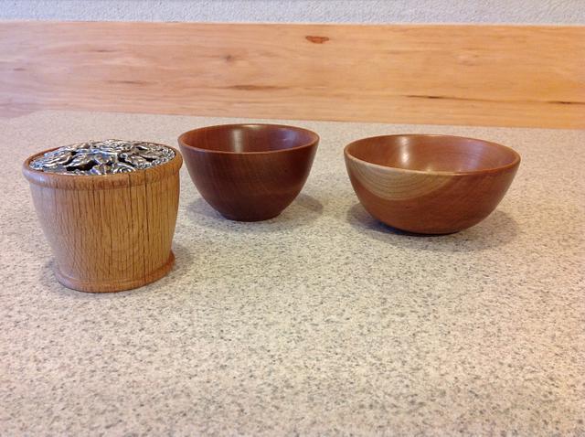 Beginning bowl turnings