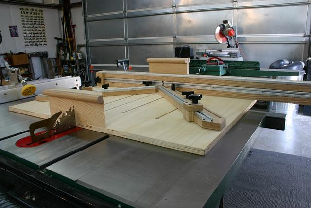 SuperSled for Table Saw