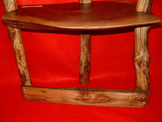 walnut stool