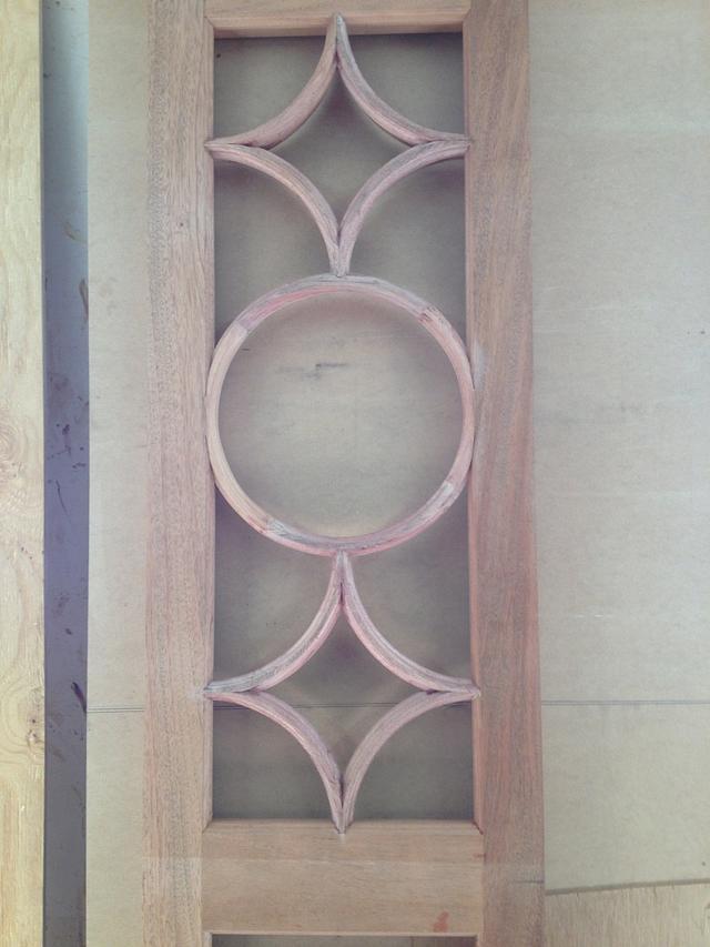 Circle & Inverted Circle French Doors