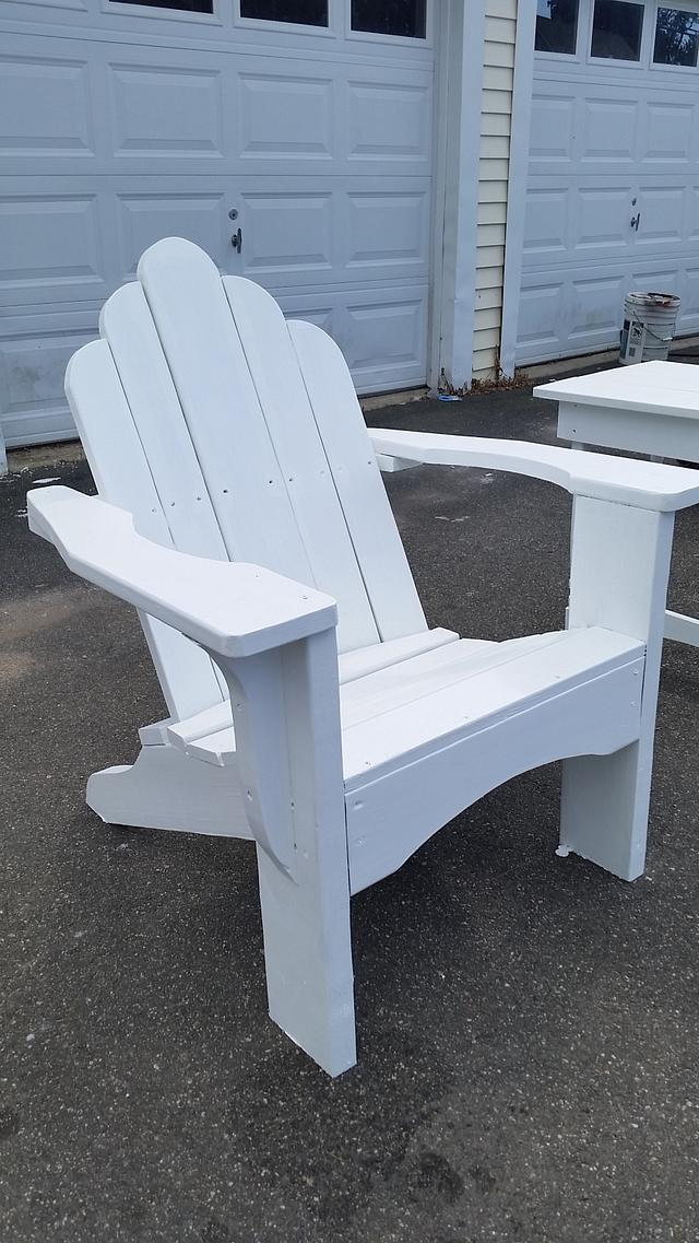 hurricane proof adirondak chair - Woodworking Project by mark d.