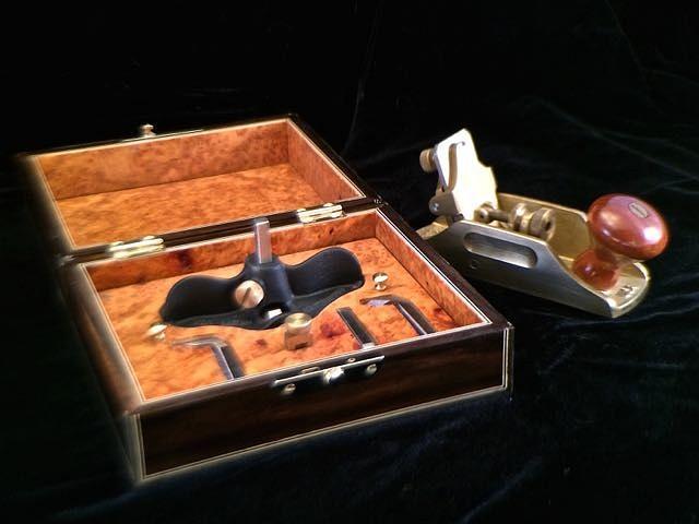 Small Ebony Tool Box