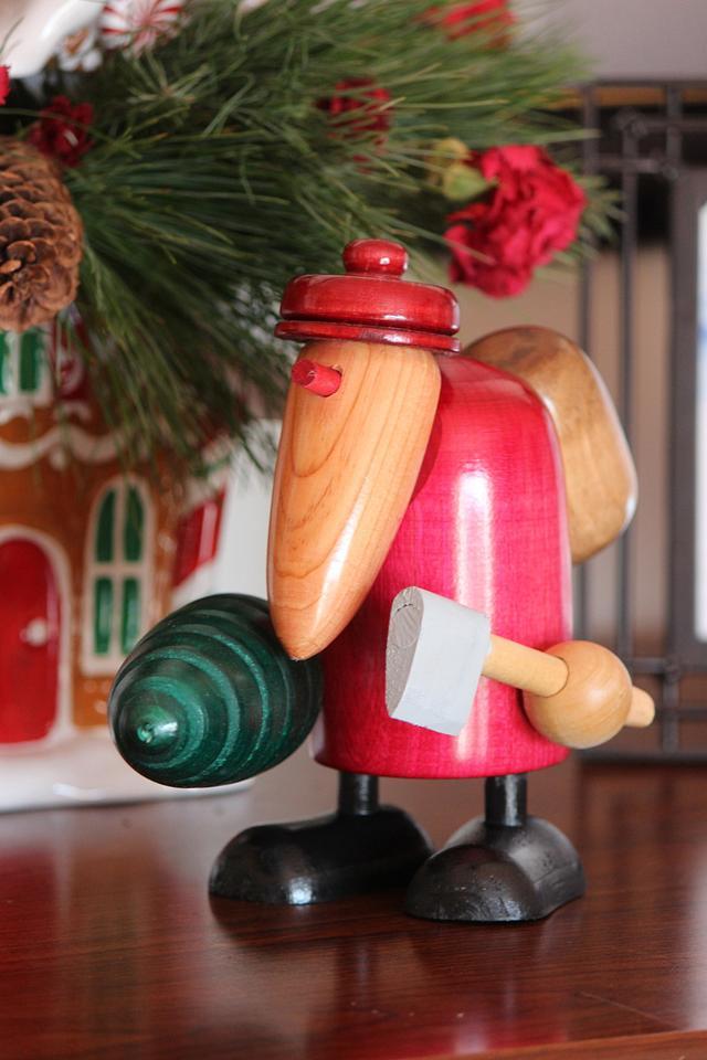 Stylized Santa