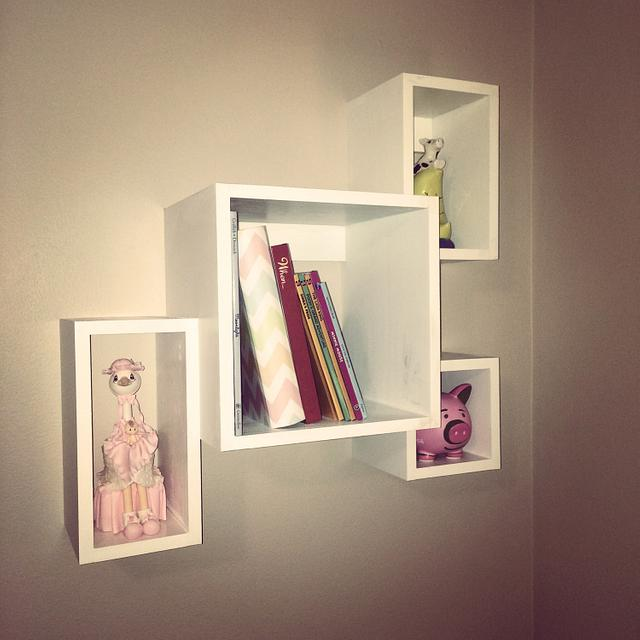 Baby Room Bookshelf and Letters