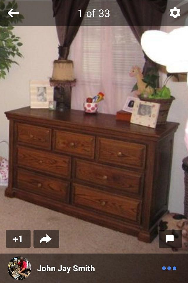 Three way Baby Bed & Chest ofDrawers