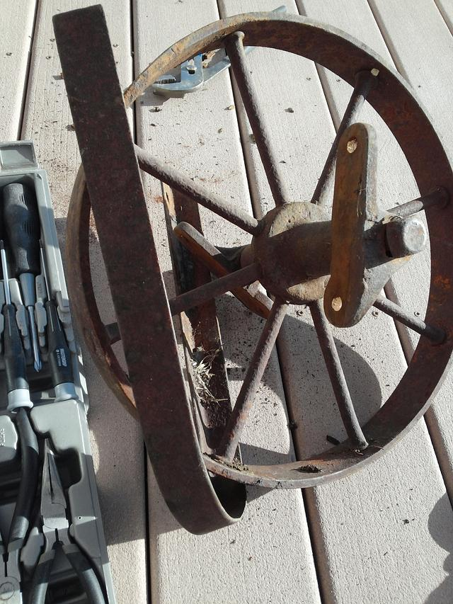wheelbarrow Coffee Table
